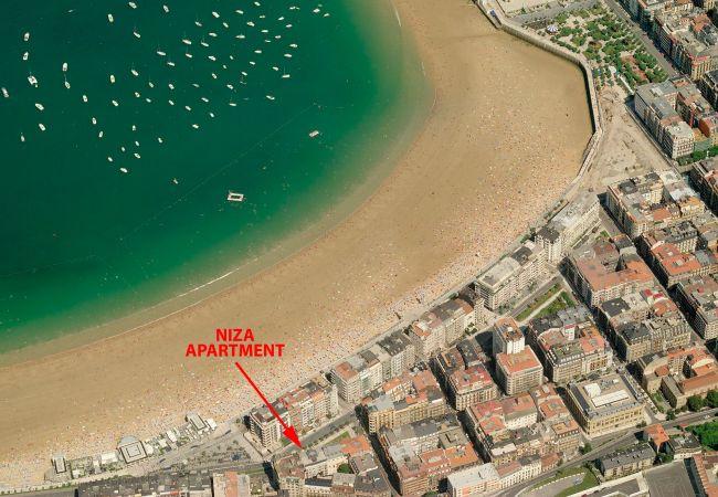 Apartamento en San Sebastián - Niza La Concha