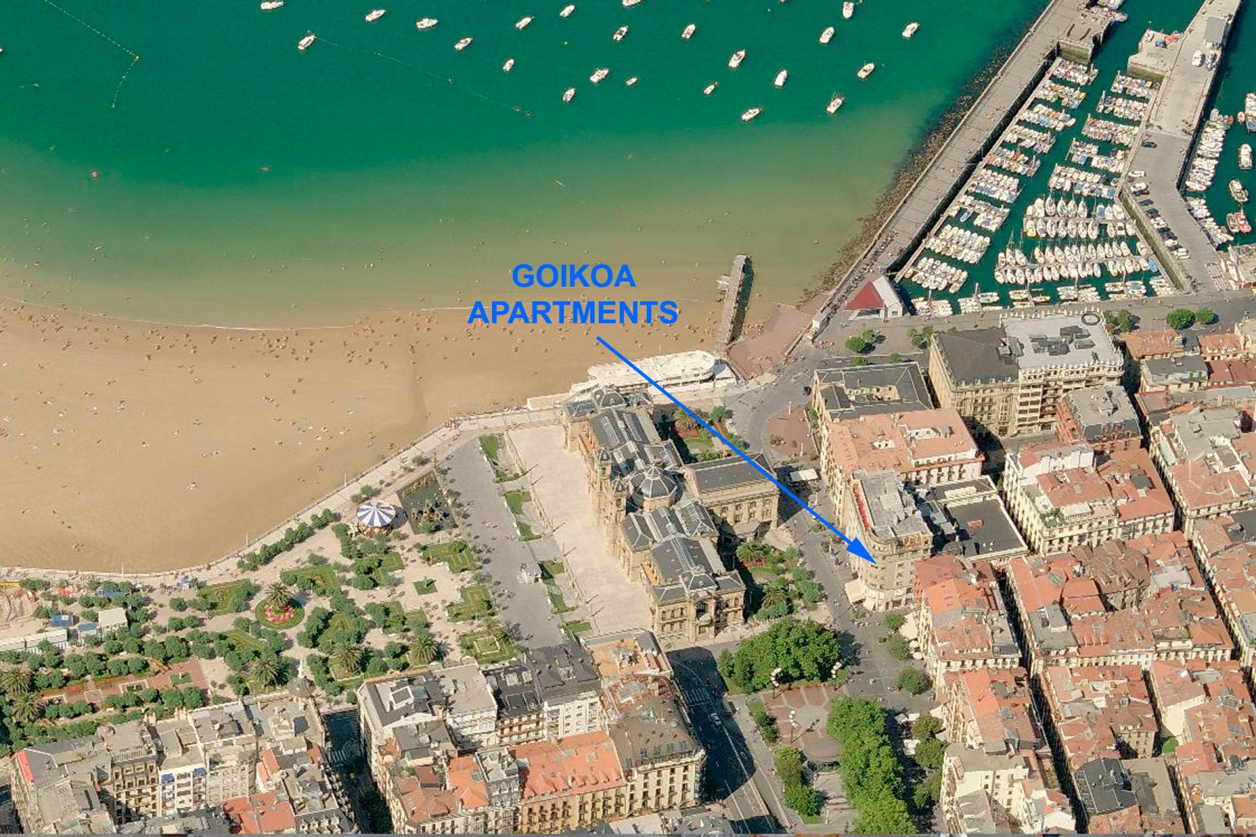 Apartments in San Sebastián - Goikoa 6 Nautic